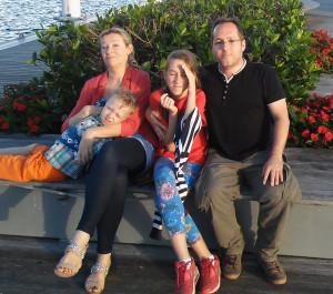 rodzina na ławce ostatecznie
